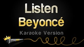 getlinkyoutube.com-Beyoncé - Listen (Karaoke Version)