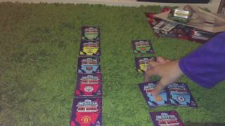 Match Attax Pack Opening Richard v Jack 5-A-Side Battle with 2 Multi-Packs Opened