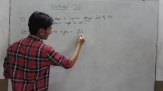 Exercise 3.2 - Question 3 NCERT/CBSE Solutions for Class 8th Maths (Understanding Quadrilaterals)