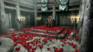 getlinkyoutube.com-Skyrim: Dropping 1000s of Daedra Hearts on NPCs