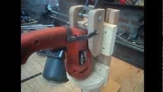 TALADRO VERTICAL CASERO - Homemade Drill Press