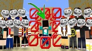 MINECRAFT CUBAO : FUI TROLLADO PELA ADR!! (MINECRAFT TROLL)