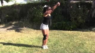 getlinkyoutube.com-Ariana Wagoner Azusa Pacific University Acrobatics and Tumbling Recruit