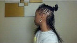 getlinkyoutube.com-Braid Locks to Micro Locks Journey(On Relaxed Hair)