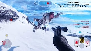 getlinkyoutube.com-Star Wars Battlefront - Random Moments #5 (Funny Taunts, Superman!)
