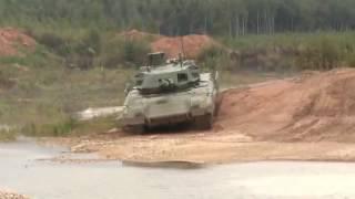 getlinkyoutube.com-Nga công bố clip cảnh siêu xe tăng Armata tập luyện