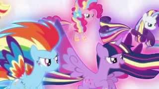 getlinkyoutube.com-Rainbow Powered Mane Six (Defeating Lord Tirek & Restoring Magic In Equestria)
