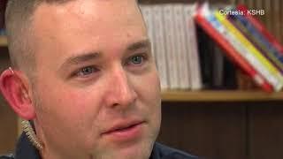 Un oficial de la policía en un acto de heroismo, salvó la vida de una estudiante de primaria