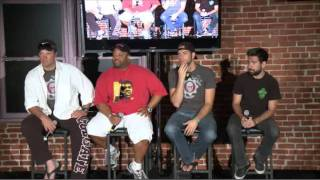 getlinkyoutube.com-Nerd HQ 2011 - Zachary Levi, Adam Baldwin, Joshua Gomez, Mark Christopher Lawrence