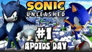 getlinkyoutube.com-Sonic Unleashed (360/PS3) - (1080p) Part 1 - Opening & Apotos Day
