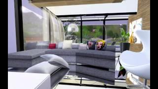 getlinkyoutube.com-HD Modern Luxury House Design •The Sims 3•