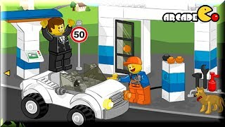 getlinkyoutube.com-LEGO Junior: Lego Gas Sation & Feed Pony - Lego Movie Game