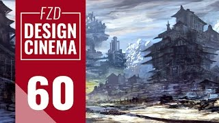 getlinkyoutube.com-Design Cinema – EP 60 - Realtime Fantasy Landscape Painting