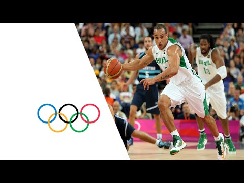 Basketball Men's Quarterfinals - Brazil vs Argentina Full Replay -- London 2012 Olympic Games