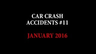 getlinkyoutube.com-Car crashes videos | Crazy and scary accidents January 2016 #11
