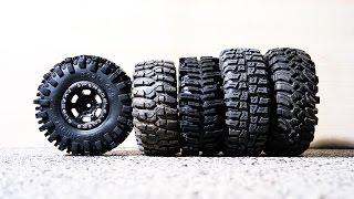 getlinkyoutube.com-2.2 scaler crawler tires comparison & Proline Titus wheels