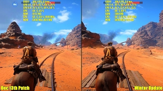 getlinkyoutube.com-Battlefield 1 Winter Update Vs December Patch GTX 1080 Frame Rate Comparison