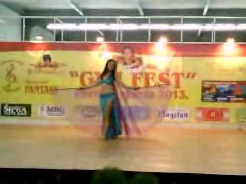 Milana Lelka-Belly dance Sajam Novi Sad :)