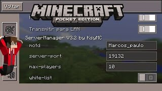 getlinkyoutube.com-MOD SERVER MANAGER v 3.2 (MOD DO SERVIDOR) DOWNLOAD MINECRAFT PE 0.13.0