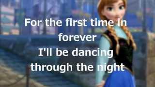 """getlinkyoutube.com-Lyrics: """"For the First Time in Forever"""" (Disney's Frozen)"""