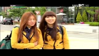 getlinkyoutube.com-GLAM - Dahee & Miso at School