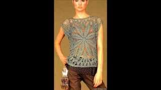 getlinkyoutube.com-how to crochet summer top tunic free pattern
