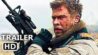 12 STRΟNG Official Trailer (2018) Chris Hemsworth, Action Movie HD