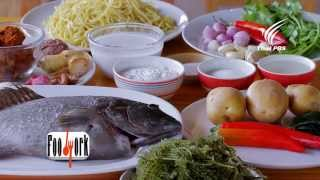 getlinkyoutube.com-Foodwork ปลากะรังจุดฟ้า+สาหร่ายพวงองุ่น : 15 มี.ค. 58 (HD)