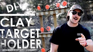 DIY Homemade Clay Target Holder - CHEAP & PORTABLE | The Sticks Outfitter EP. 16