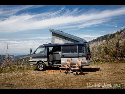 SALE REVIEW: 1992 TOYOTA HiAce Cruising Cabin 4wd Pop-Top Camper Van by VANLIFE NORTHWEST