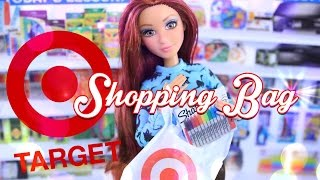 getlinkyoutube.com-DIY - How to Make: Target Shopping Bags - Quick Craft - Doll Crafts - 4K