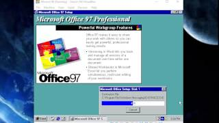 getlinkyoutube.com-How to install Office 97