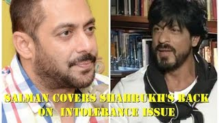 getlinkyoutube.com-Salman Khan supports Shah Rukh on intolerance issue