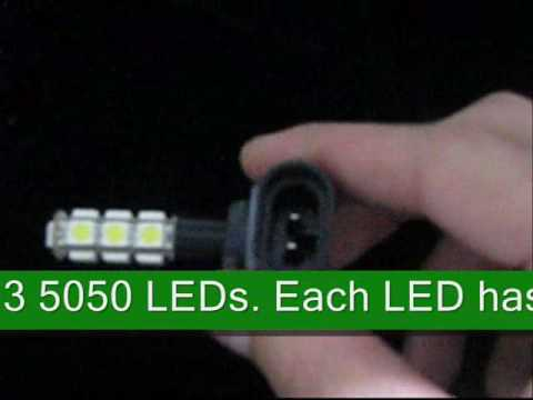 Product Code: SMT 5050 (3 Chip) LED Driving Lamp