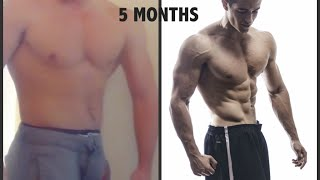 getlinkyoutube.com-Fitness Transformation - From FAT to SHREDDED (5 months !!)