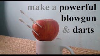 getlinkyoutube.com-How to make a Hunting Blowgun and Darts with household items
