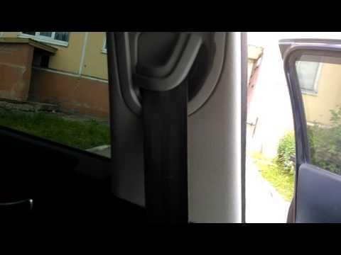 Ремень безопасности после стирки Рено Меган 2