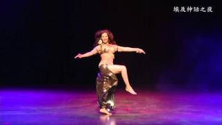Randa Kamel live sing and dance performance in Taiwan 2015 Part I