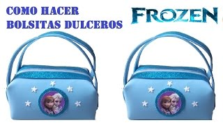 getlinkyoutube.com-COMO HACER BOLSITA DE FOAMY FROZEN