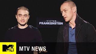 Daniel Radcliffe & James McAvoy Build Their Dream Celebrity Frankenstein | MTV News