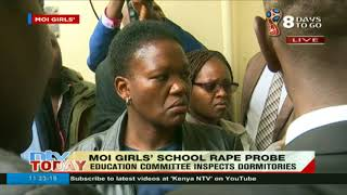 Moi Girls' boarding mistress at pains to explain how intruders accessed school