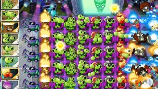 Plants vs Zombies 2 Greatest Hits Epic Hack - Level 175 - World Peas Day