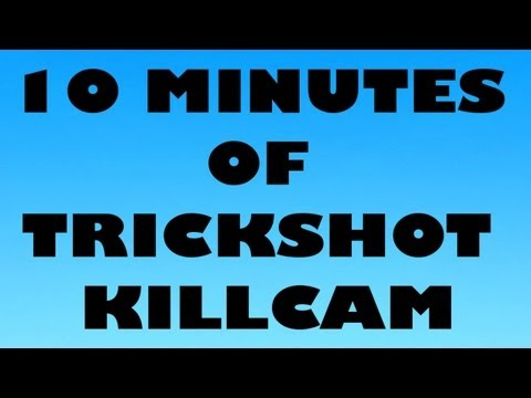 10 MINUTES OF TRICKSHOT KILLCAM MW2 #1