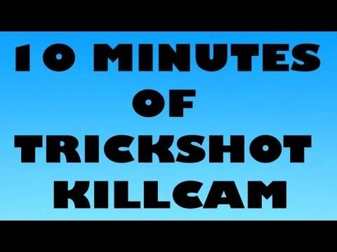 10 MINUTES OF TRICKSHOT KILLCAM MW2 #1