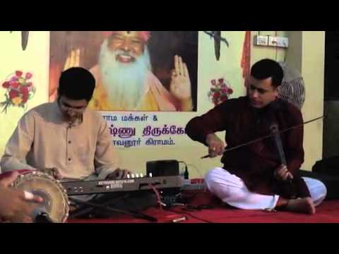 Bo Sambo of Sri. Dayananda Saraswathi on Keyboard by Sathya & Team