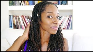 Wearable Twist for Natural Hair! Protective Styling! Mini Twist!
