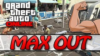 getlinkyoutube.com-GTA 5 ONLINE - MAX OUT YOUR STRENGTH FAST (5 MINUTES/LEVEL 100) [GTA V MULTIPLAYER]