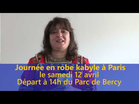 JOURNEE EN ROBE KABYLE A PARIS