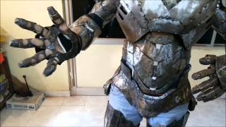 "getlinkyoutube.com-Iron man Suit Mark VI ( Mark - 6 ) part-9 "" Hand "" (Metal)"