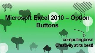 getlinkyoutube.com-Microsoft Excel 2010 - Option Buttons